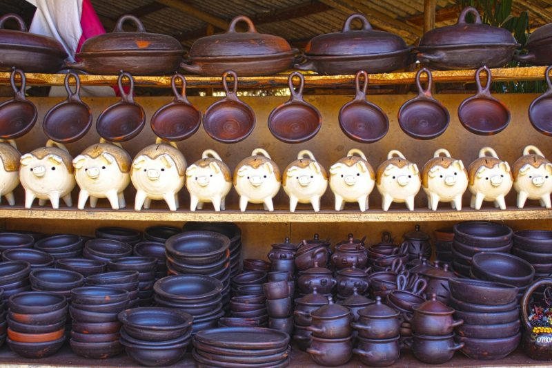 Pottery and handicraft at Pomaire