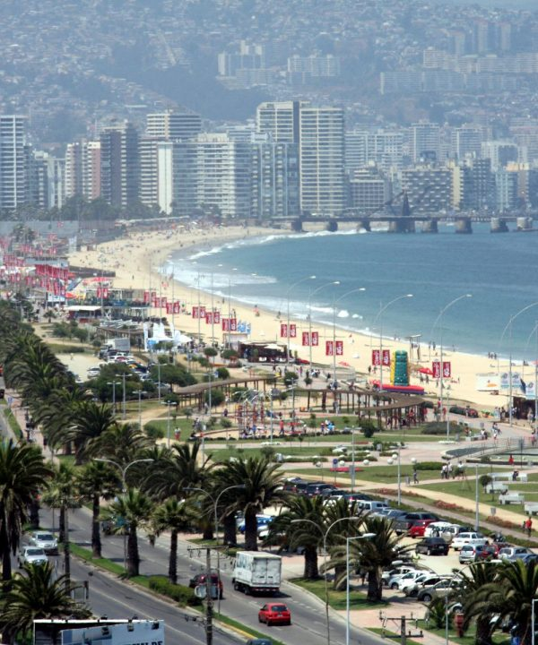 Viña del Mar coast and beach